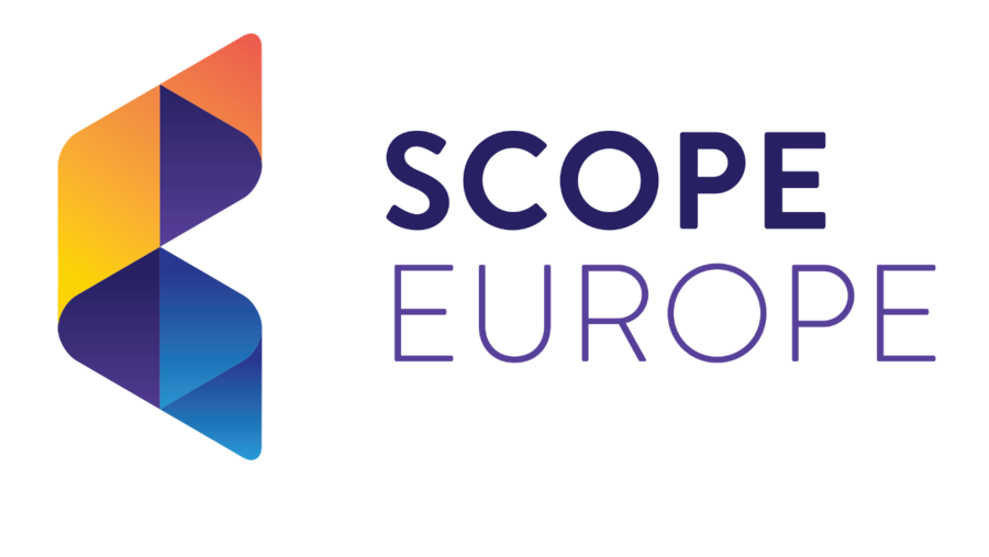 shows the company logo of SCOPE Europe