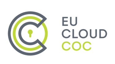 shows the logo of EU Cloud Code of Conduct